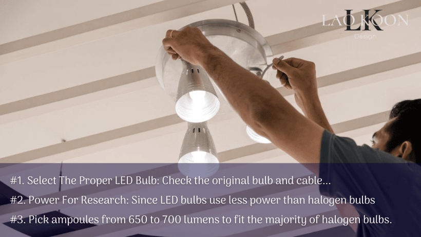 Can Halogen lamps be replaced with LED bulbs in regular fixtures