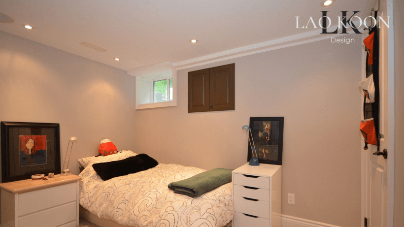 recessed ceiling lights in Bedroom