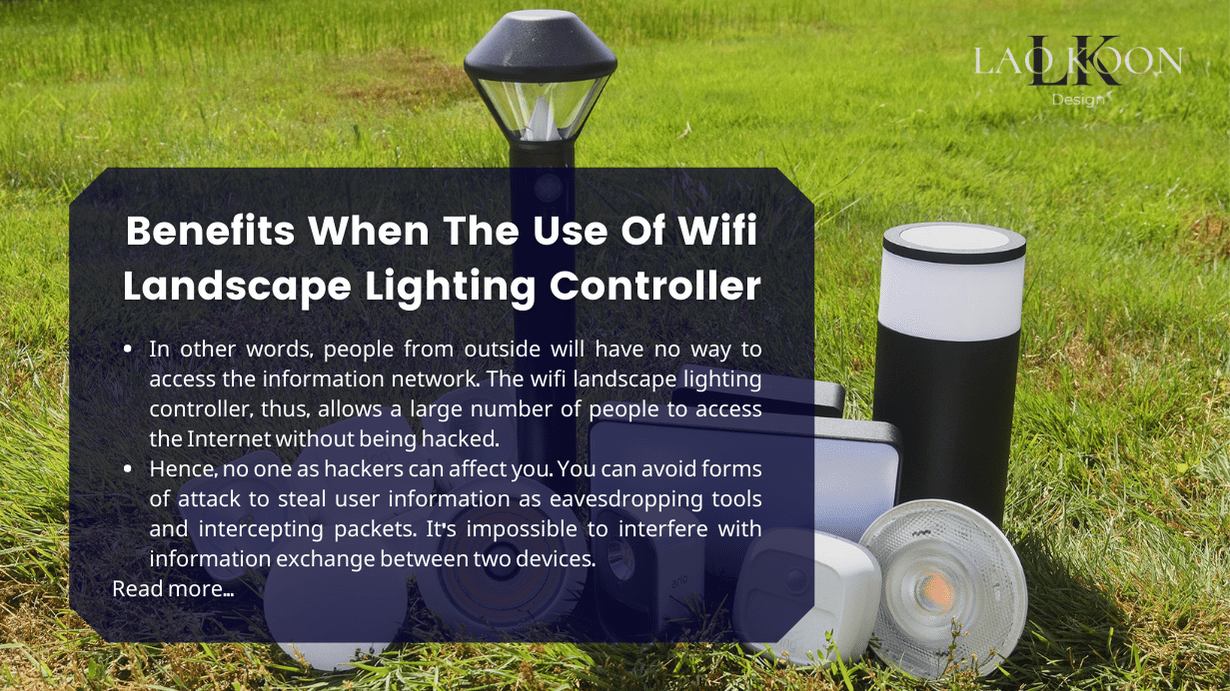 Benefits When The Use Of Wifi Landscape Lighting Controller