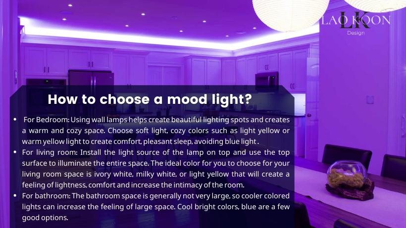 How to choose a mood light?