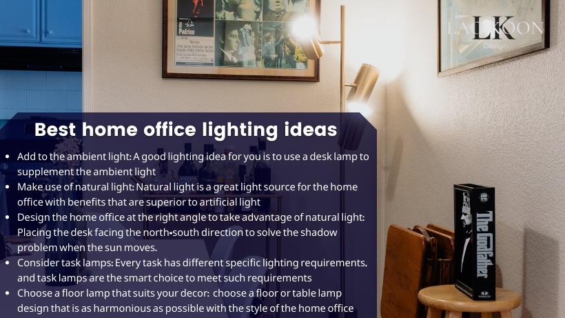 Best home office lighting ideas