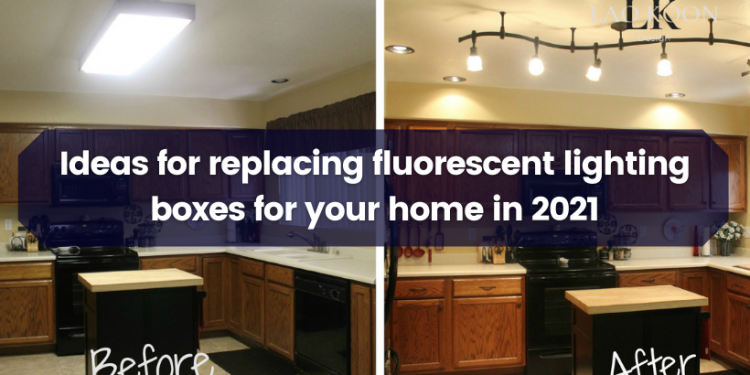 Ideas for replacing fluorescent lighting boxes