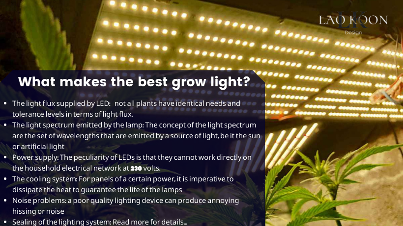 What makes the best grow light