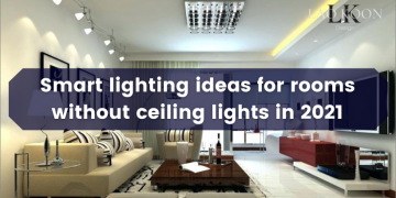 Lighting ideas for rooms without ceiling lights