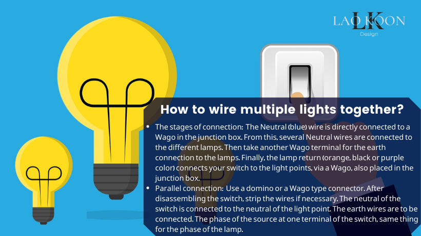 How to wire multiple lights together?